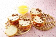 Hello Kitty Stainless Steel Bread Baking Mold Stencil