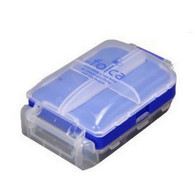 Japanese 8 Compartments Compact Pill Case Blue Color