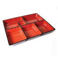 Bento Box Inner Divider 6 Compartmets 11.5x9.5in