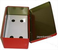Half Sheet Sushi Nori Kan Seaweed Container Red