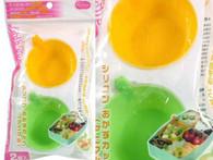 Animal Handle Silicon Food Cup for Bento Box 2pc