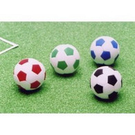 4 pieces Iwako erasers - Soccer Ball (Color May Vary)