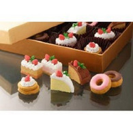 7 pieces Iwako erasers - Cake Donut (Color May Vary)