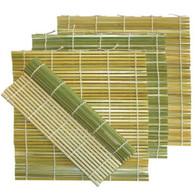 5pc Bamboo Sushi Mat 9.5in