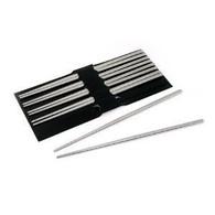 5 Pairs Hollow Stainless Steel Chopsticks Set #8193
