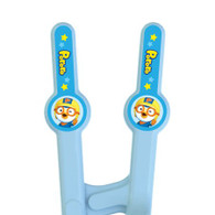 Pororo Edison Training Chopsticks for Right Handed 2nd Step Blue