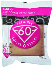 Hario Box of Paper Filter for 01 Dripper 7.1 by 2.1 by 8.3-Inch 100 Sheets Misarashi