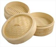Bamboo Steamer Set 10-Inch
