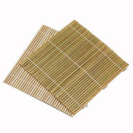 JapanBargain Set of 6 Bamboo Sushi Rolling Mats 9-1/2 Inches