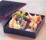 Hakoya Syokado Plastic Lacquer Bento Box w/ Lid