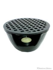 Cast Iron Teapot Warmer 5-3/4in Black