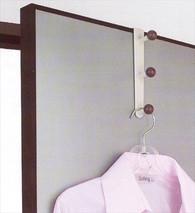 Plastic Overdoor Hook Cloth Hanger #1631