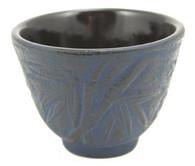 Blue Bamboo Cast Iron Teacup