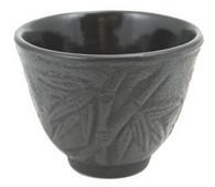 Black Bamboo Cast Iron Teacup
