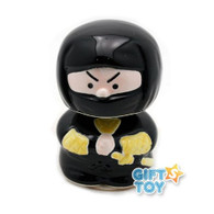 Black Ninja Porcelain Bobble Head