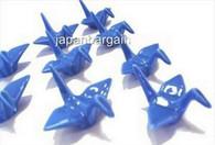 1x Blue Porcelain Crane Chopstick Rest