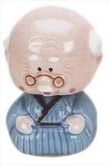 Grandpa Porcelain Bobble Head