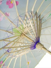 JapanBargain S2172, Kid's Size Japanese Chinese Umbrella Parasol 22-inch, Transparent Yellow Color