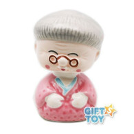 Grandma Porcelain Bobble Head