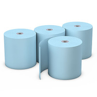 "Choice™  Blue Bond Paper, 3"" x 165', 50 Rolls"