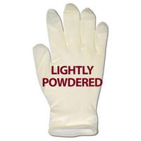 Glove, Latex Powdered, Large