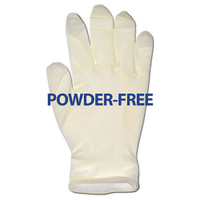 Glove, Latex Powder-Free, Large, 1000/cs