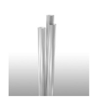 "Jumbo Straw, 7.75"" Clear, Paper-Wrapped"