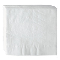White Dinner Napkin, 17x17