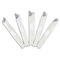 Napkin Bands, White, 4.25x1.5