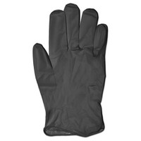 Glove, Black Nitrile Heavy, Powder-Free, Extra Large
