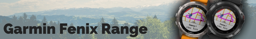 Garmin Fenix Range from WatchO