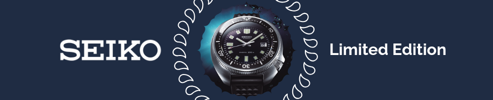Seiko Limited Edition Watches