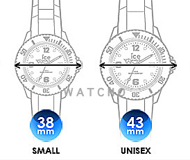 Ice-Watch Replacement Strap Size Guide