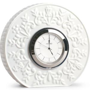Lladro Porcelain Table Clock Logos 01009603