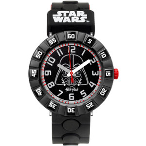 Flik Flak Star Wars Darth Vader Children's Quartz Black Dial Watch FFLP005