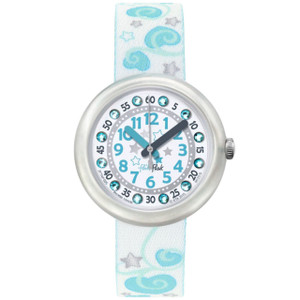 Flik Flak Coeur De Reve Children's Quartz White Dial Watch FTNP005-STD
