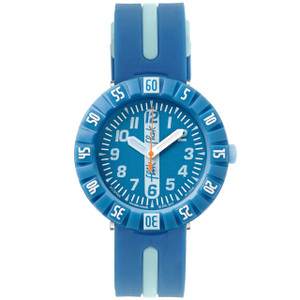 Flik Flak Sky Ahead Children's Quartz Blue Dial Watch FCSP066