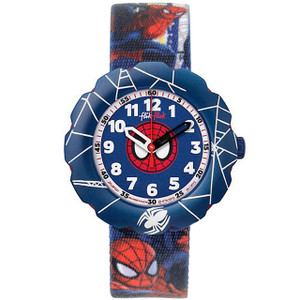 Flik Flak Spider-Cycle Children's Quartz Blue Dial Watch FLSP001