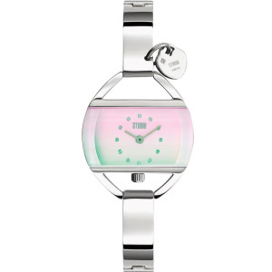 Storm Women's Temptress Charm Lazer Pink Bracelet Watch