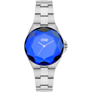 Storm Women's Crystana Lazer Blue Stainless-Steel Bracelet Watch