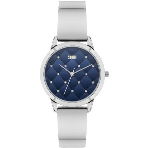 Storm Women's Enya Blue Swarvoski Crystals Stainless-Steel Watch
