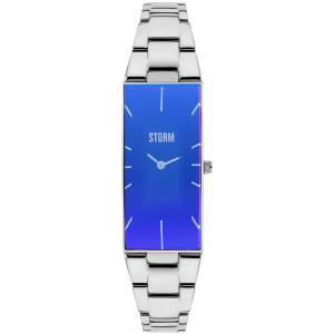 Storm Women's Ixia Lazer Blue Stainless-Steel Bracelet Watch