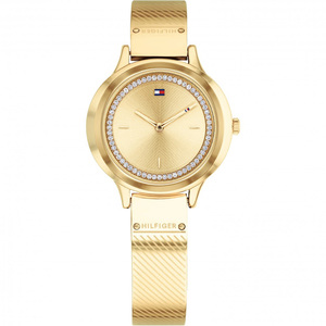 Tommy Hilfiger Women's Olivia Champagne Dial Stainless-Steel Bracelet Watch 1781910
