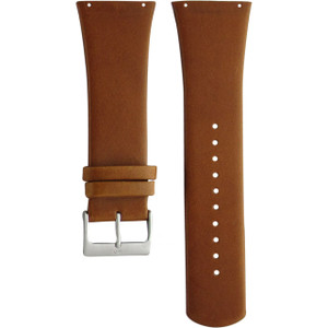 Skagen Replacement Tan Leather Watch Strap 28mm For SKW6085