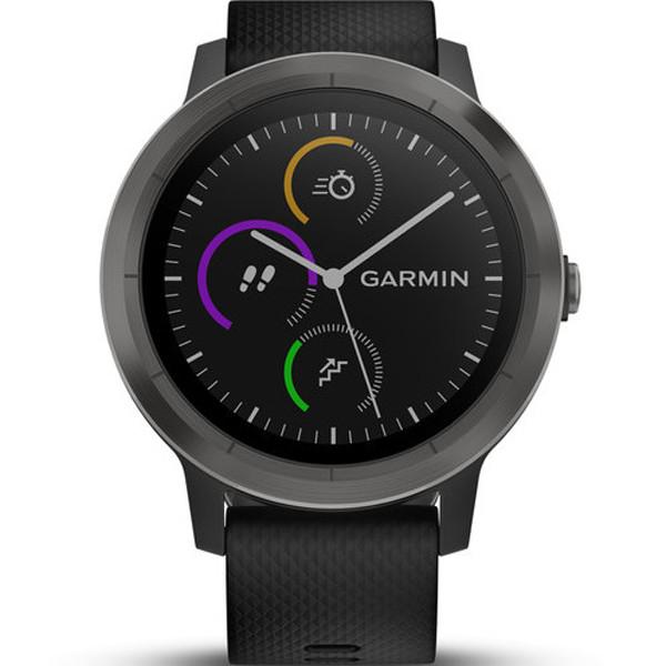 Garmin 010-01769-10 Vivoactive 3 Black Strap 43MM Watch  edaf6bab66c