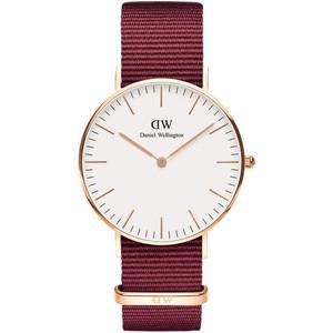 Daniel Wellington Unisex Classic Roselyn Eggshell White Dial Watch DW00100271