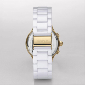 DKNY Replacement White Ceramic Link For Women's NY4986 Watch