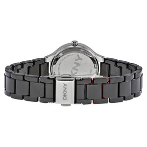 DKNY Replacement Black Ceramic Link For Women's NY4887 Watch