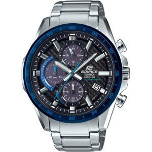 Casio Edifice Men's Chronograph Solar Powered Sapphire Glass Bracelet Watch EFS-S540DB-1BUEF