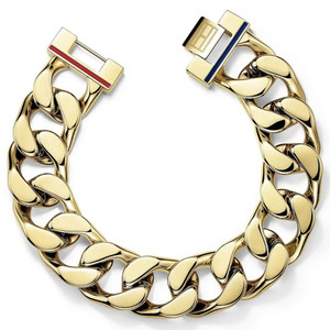 Tommy Hilfiger Women's Chunky Gold Plated Stainless-Steel Bracelet 2700702